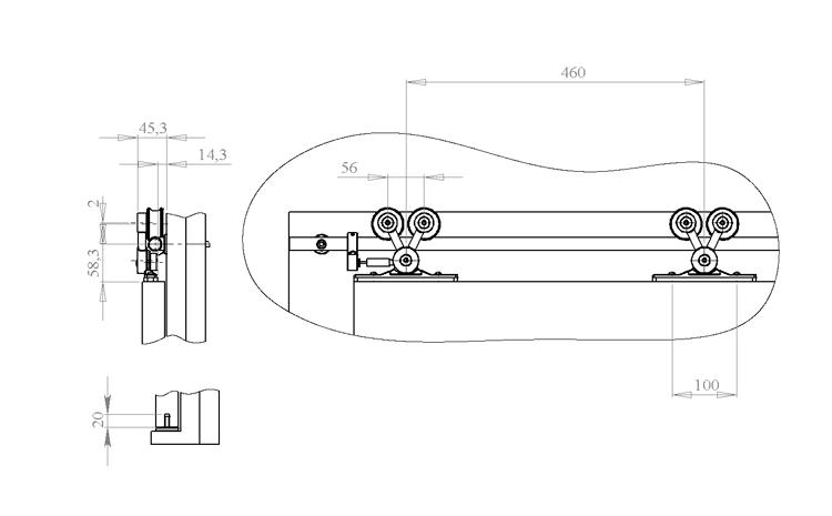 Роторный дверной механизм своими руками 142